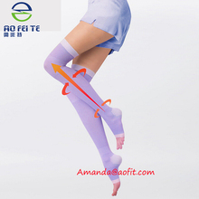 Top selling products in alibaba compression slimming lady knee high socks,Sleeping Beauty Leg slimming socks