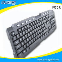 Tope quality doking gaming computer keyboard