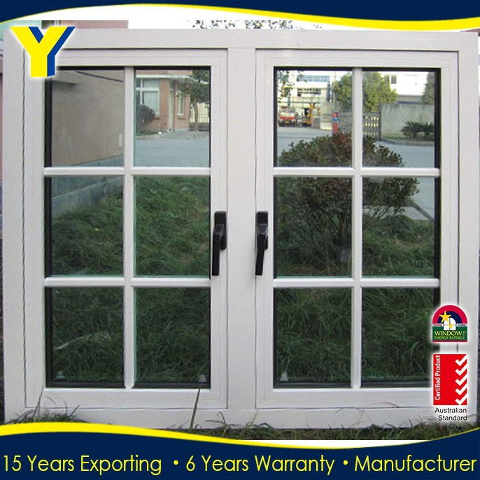 Small casement window/Aluminium double glazed Windows and Doors Comply with Australian & NZ standards