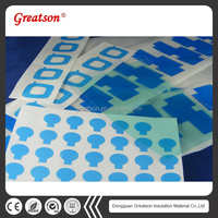 Wholesale die cut anti-scratch washable plastic hot blue PVC plastic film