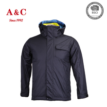 100% Polyester Lightweight Waterproof Jacket For Men