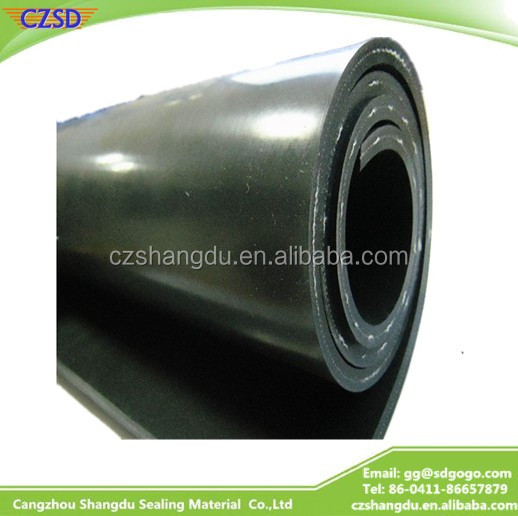 SD Recycled Reclaimed Tire Rubber Sheet vulcanized