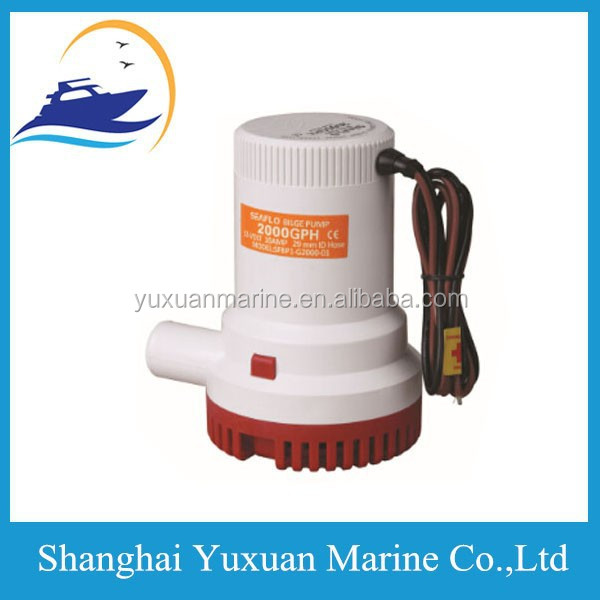 Small Best Submersible Pumps 2000GPH Electric Pump