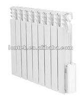 Electric oil filled aluminum radiator