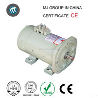 electric rail vehicle traction dc motor/Rolling mill dc motor/4kw 48v electric car dc motor