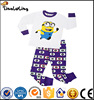 Brand kids Pajamas Kids boys winter wear sets Avengers cloth child warm Sleepwear Minion Pajamas