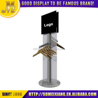 MX-MCL044 metal material t-shirt display stand for shop