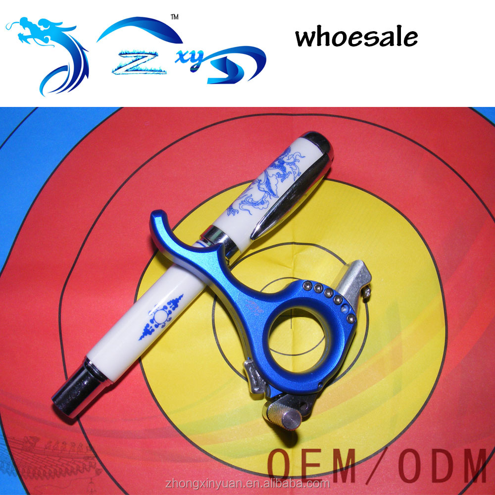 New product compound bow archery release for hunting supplies archery release release aid archery blue