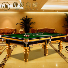 Hot Selling ISO9001 3 cushions billiard table for sale