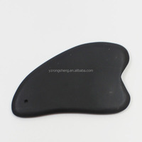 black bian stone massage tool for face