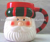 FDA ceramic cup for christmas