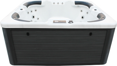 Luxury European design outdoor massage hot tub with TV