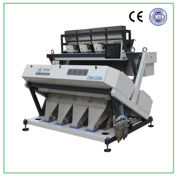 2015 intelligent image double side ccd camera, rice color sorter with stable quality,high sorting precision,and reasonable price
