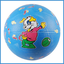 Cartoon style Rubber Mini Basketball