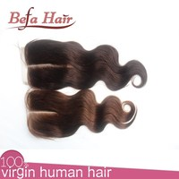 Middle part cheap human hair wholesale bohemian hair lace closure