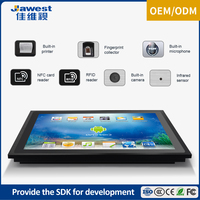 All aluminum alloy High Speed Memory touch screen embedded tablet android 17 inch all in one pc