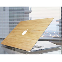 Custom Wood Grain Sticker Cover DIY Laptop Case For Macbook Air Pro Retina 11 12 13 15 Inch Protective Skin