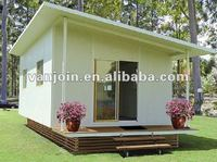 fireproof waterproof eco-friendly energy saving small green prefab house /prefabricated house