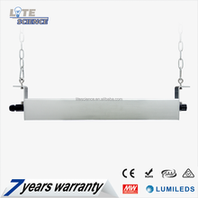 80W-200W 30*70/60*90 special lens and adjustable angle linear high bay light for warehouse