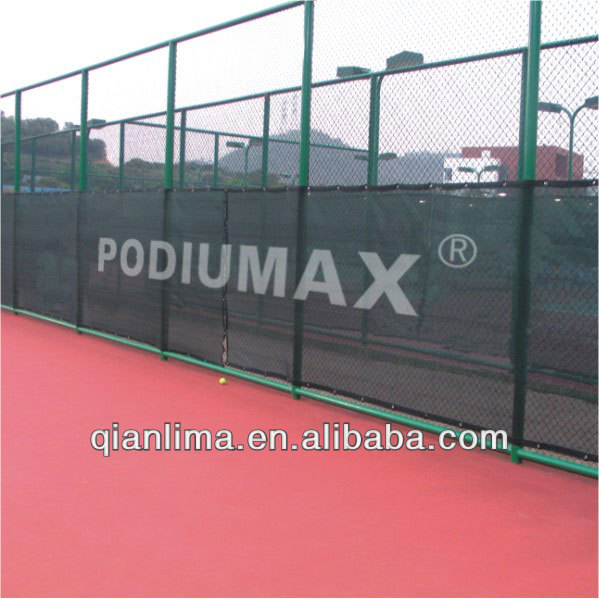 Tennis Court Windscreen/Privacy Screen - 60' x 6.5' [Superior Finish]
