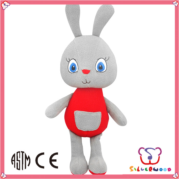 ICTI Factory new design lovely cute children stuffed fabric dolls