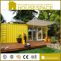 Warm Design Cute Prefab House Living