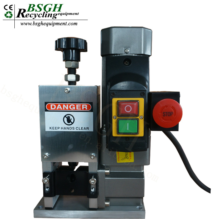 25mm Machine for Strip Waste Copper Wire stripper Machine <strong>Scrapping</strong> Cable Peeling
