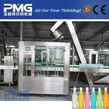 2000BPH 390ml carbonated / water / juice filling machine