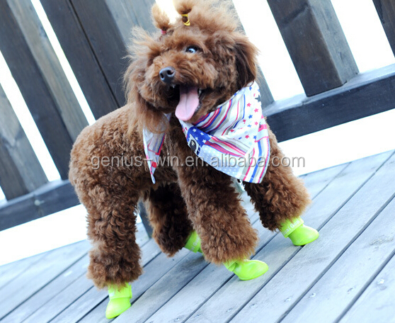 silicone rubber waterproof dog toys shoes