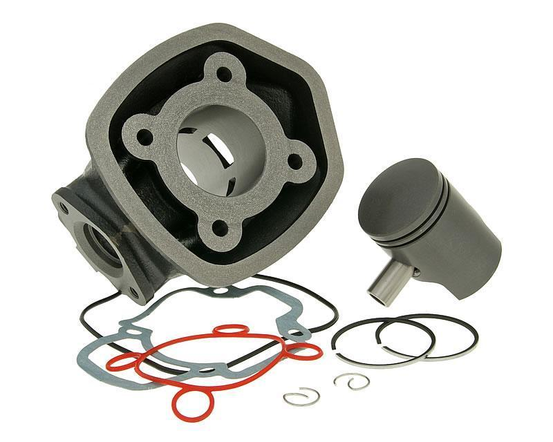 Cylinder block and cylinder kit for motorcycle parts
