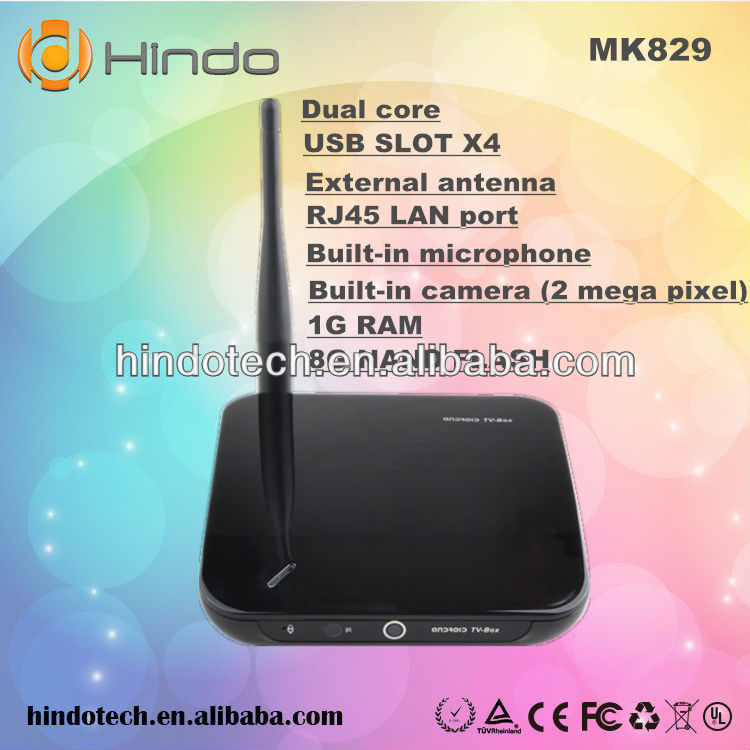 2013 NEW Release android TV Stick Dual Core Android 4.2 Google TV Box support 2MP Webcam Camera External 3G USB Dongle