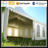 Small 5x5m Aluminum PVC White Garden Event Outdoor Party Marquee Decorated Wedding Pagoda Gazebos Tents