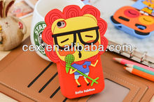 For iPhone 5 5s High Quality Cute Animal Forest Band Soft Silicone Case