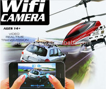 RC 3.5-channels alloy Helicopter 2.4G Wifi Iphone Controlled with Gyro with real time live vedio transmission U16W