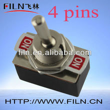 2A waterproof electrical toggle switches 250V