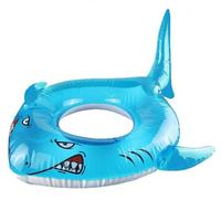 Inflatable Shark Pool Float Party Tube Float Summer Outdoor Swimming Ring