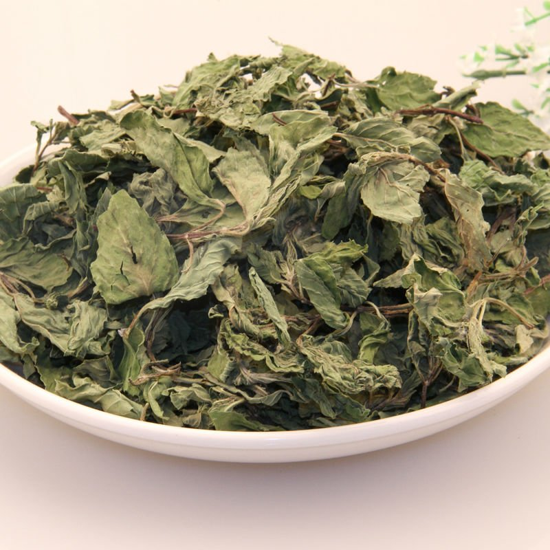 Dried mint leaf (Bo he ye)