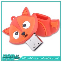 Generic Cartoon Fox Image PVC Usb Flash Drive