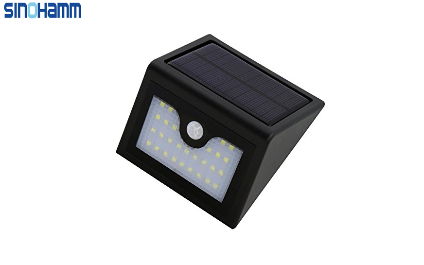 Latest Model 1W Super Bright 28 LED Solar Wall light Outdoor Wireless Wall mounted Lamp Decorating Porch , Balcony