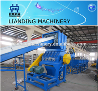 waste pp/pe film recycling line