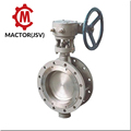 PTFT lined butterfly valve dn200 alibaba china