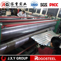 hot dipped galvanized corrugated iron sheet/22 gauge zinc coated steel