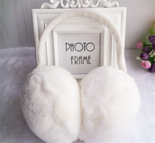 100% Rex Rabbit Fur Earmuffs Custom earmuffs