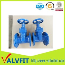 "Ductile iron BS5163 PN16 4"" water gate valve"