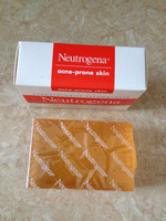 Neutrogena soap, the transparent facial bar soap, face soap