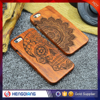 Real Wood Factory Eco Friendly Personalized Wooden Cell Phone Case For Iphone 6 6 plus , Wooden Case Bamboo For IPhone 6