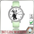 girls gift leather bear watch
