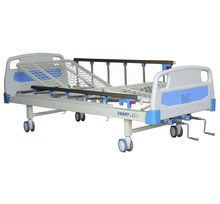 new!!!! hospital nursing care manual bed with 2 function by CE and ISO approved