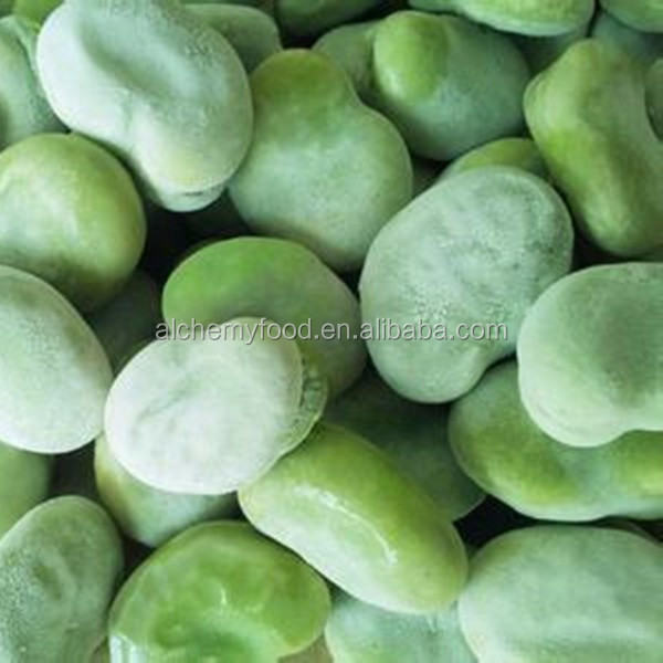 Cheap frozen broad green bean in high quality