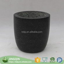 Factory custom wholesale decorative pots shallow flower pot